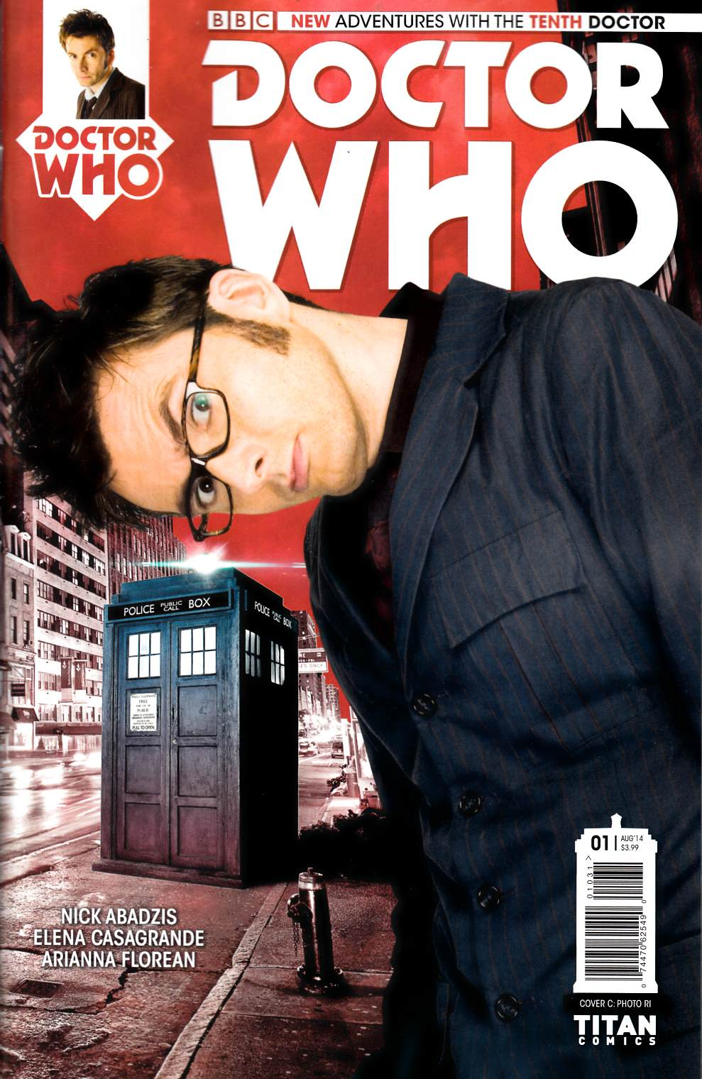 Doctor Who 10th Doctor #1 Photo Incentive Cover [Comic] THUMBNAIL