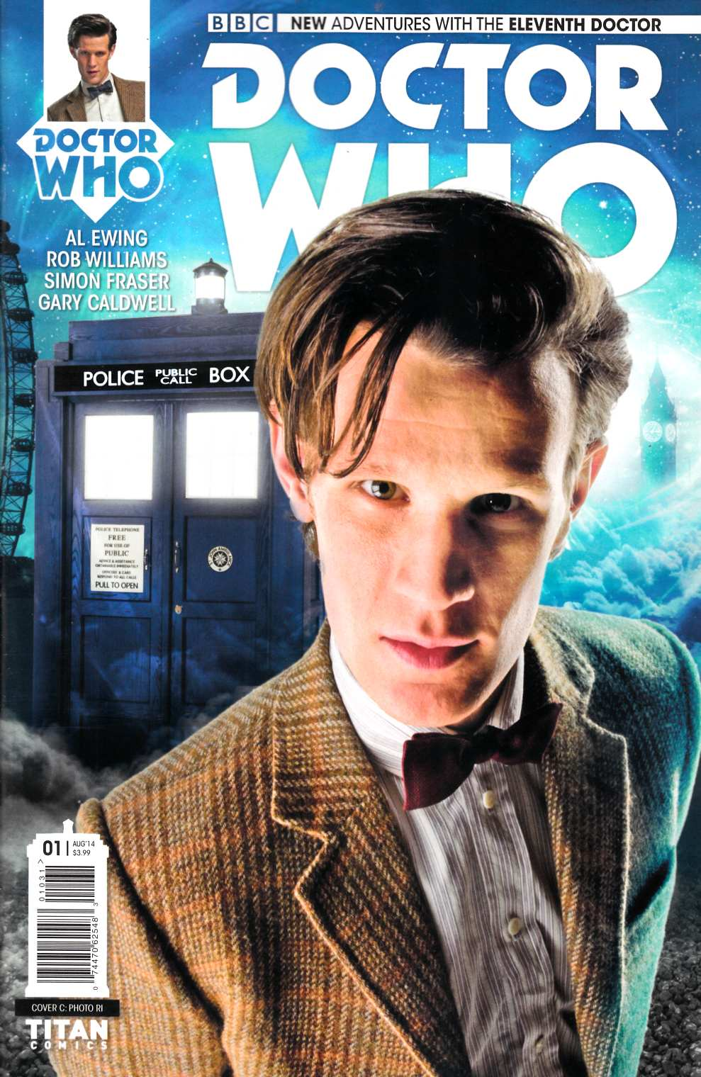 Doctor Who 11th Doctor #1 Photo Incentive Cover [Comic] THUMBNAIL