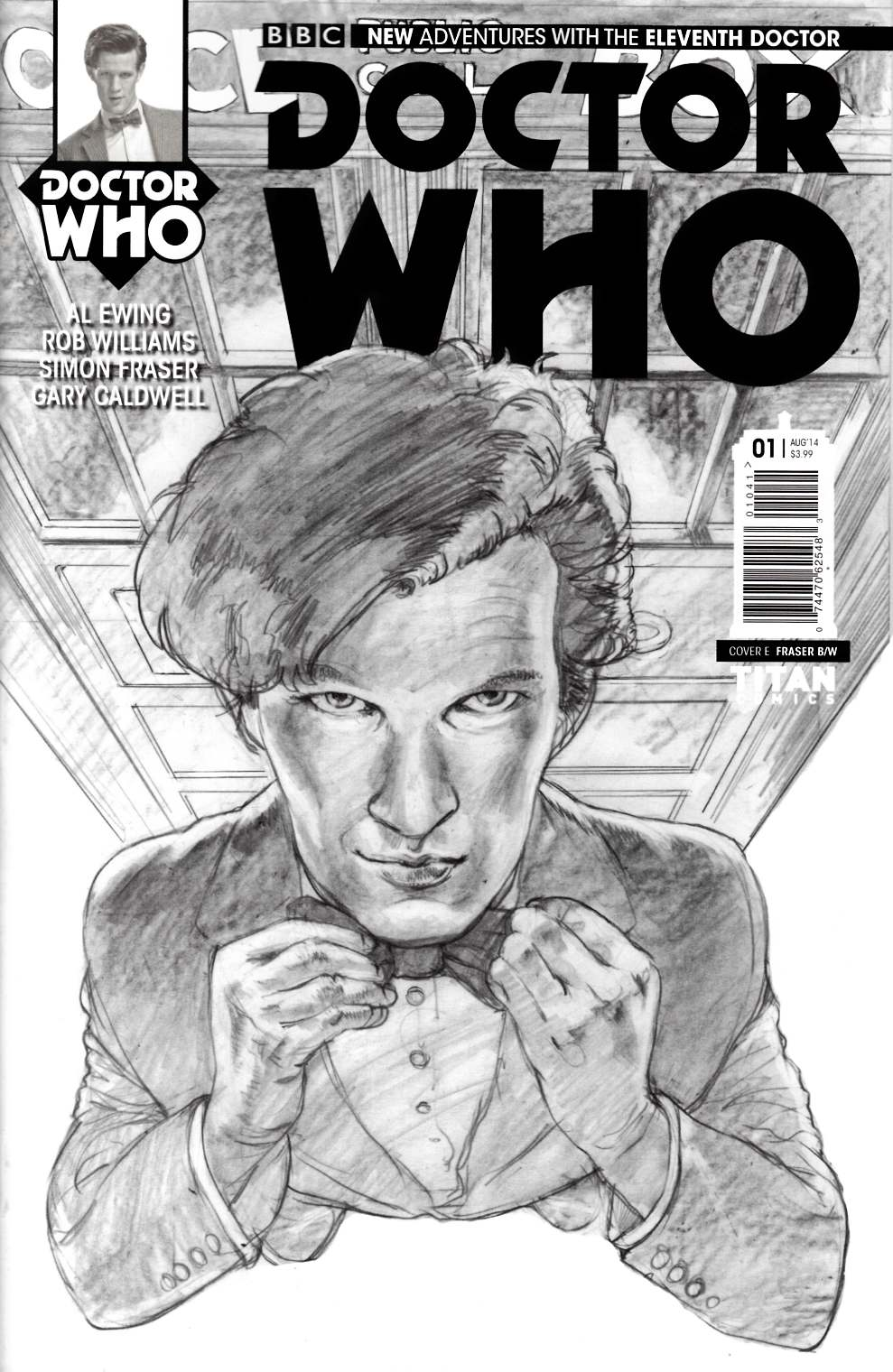 Doctor Who 11th Doctor #1 Titan Toy Incentive Cover [Comic] THUMBNAIL