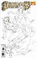 Damsels #1 J Scott Campbell Pencil Incentive Cover [Comic] THUMBNAIL