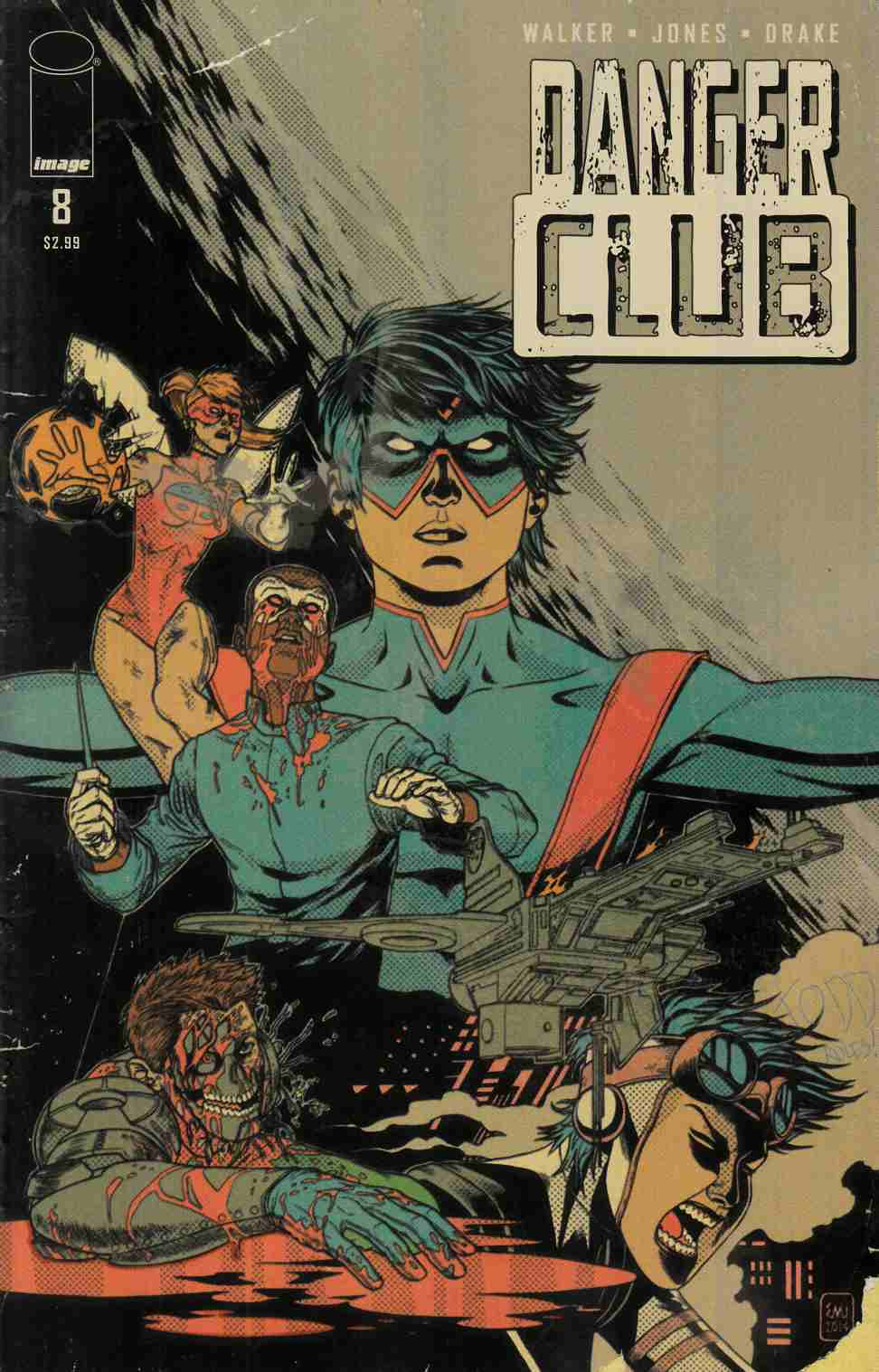 Danger Club #8 Cover B- Alternative Ending [Image Comic]_THUMBNAIL