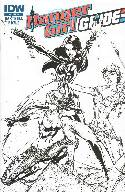 Danger Girl GI Joe #2 Cover RI- Campbell B&W [Comic]_THUMBNAIL