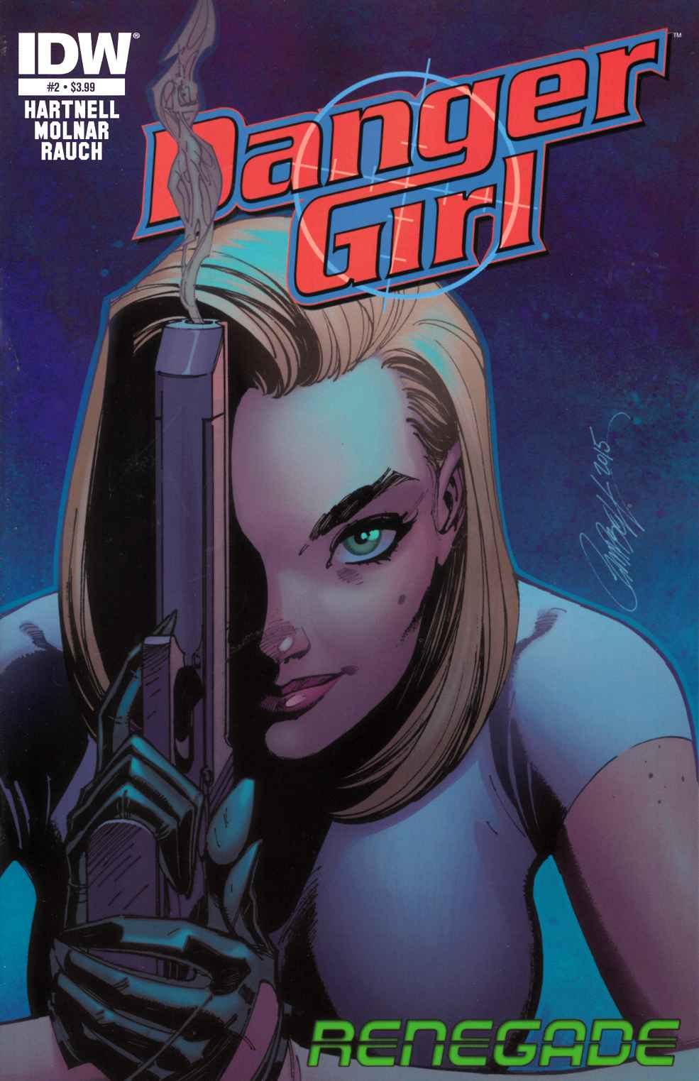 Danger Girl Renegade #2 [IDW Comic] LARGE