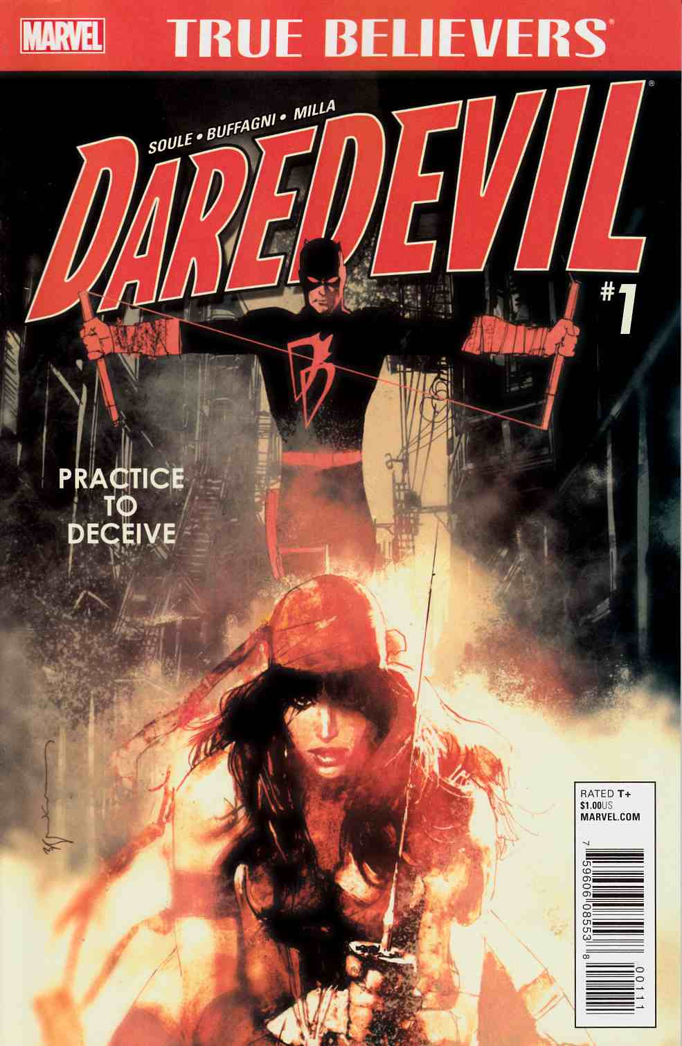 True Believers Daredevil Practice To Deceive #1 [Marvel Comic] LARGE