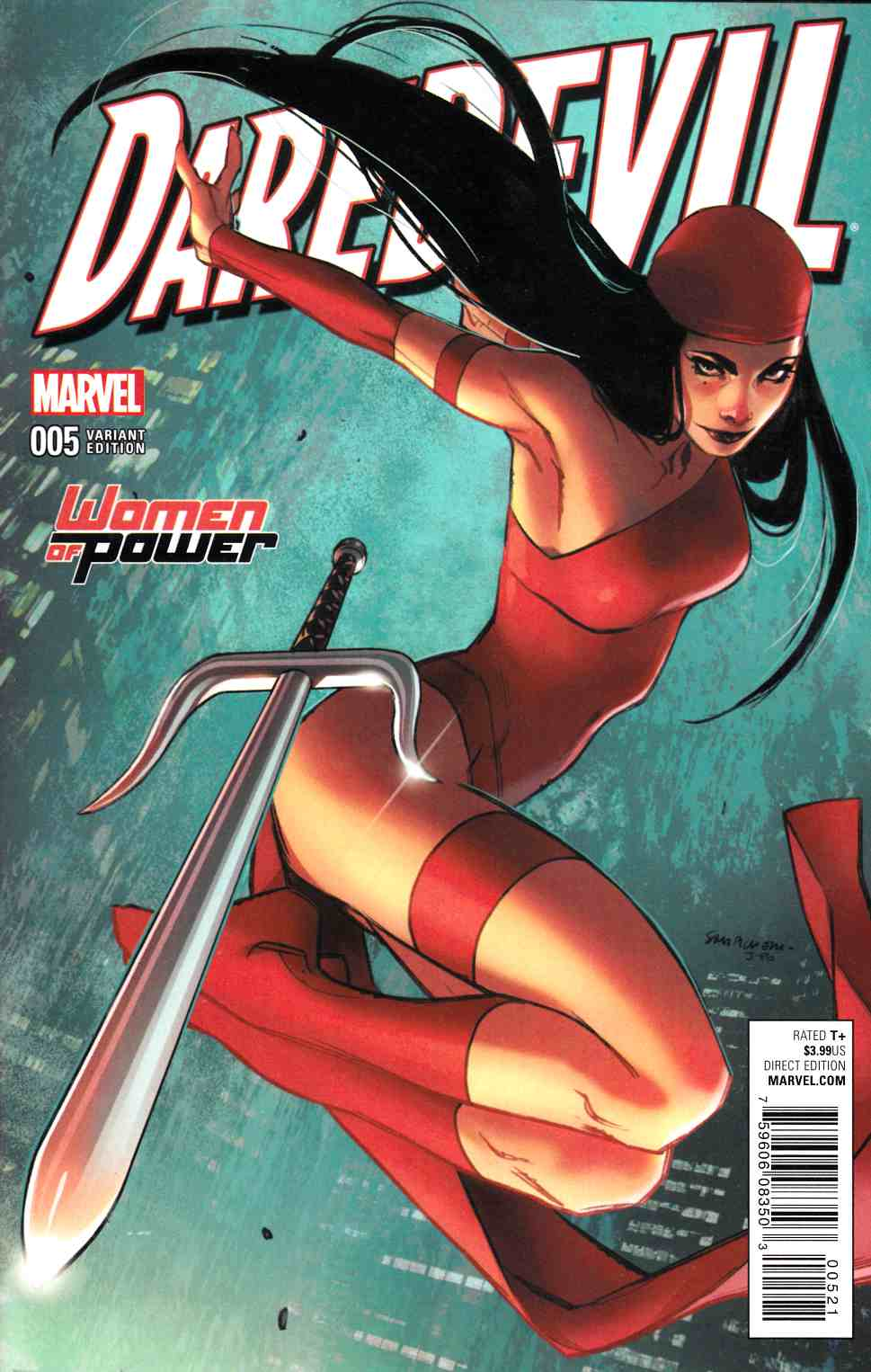 Daredevil #5 WOP Variant Cover [Marvel Comic] LARGE
