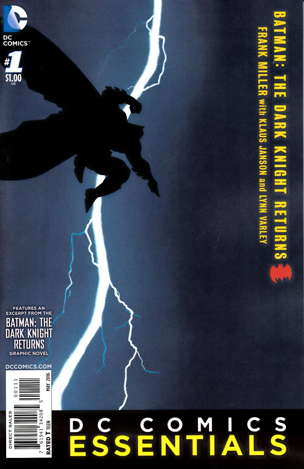 Batman the Dark Knight Returns #1 DC Essentials Edition [DC Comic]_THUMBNAIL
