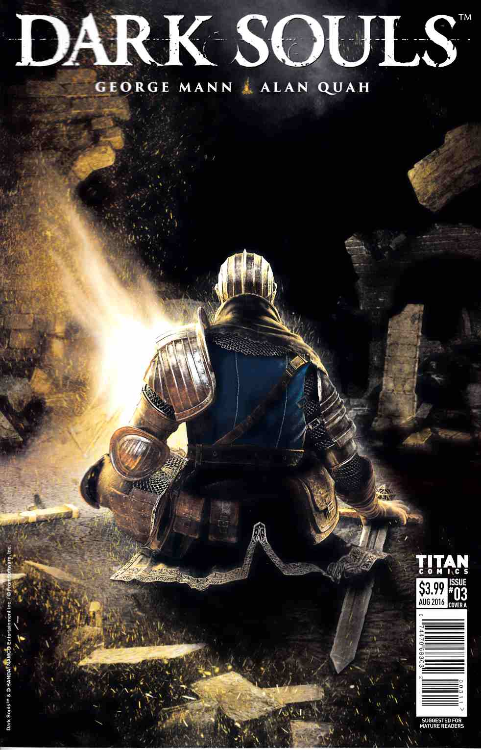 Dark Souls #3 Cover A [Titan Comic] THUMBNAIL