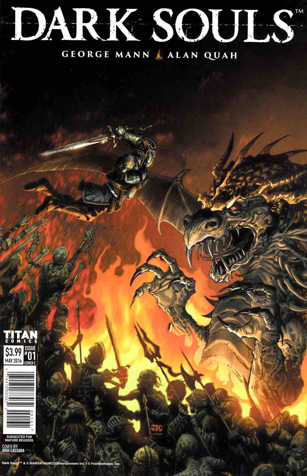 Dark Souls #1 Cover C [Titan Comic] THUMBNAIL