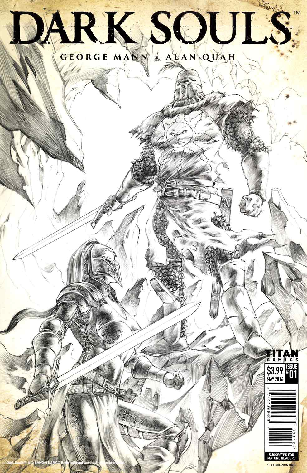 Dark Souls #1 Second Printing [Titan Comic] THUMBNAIL