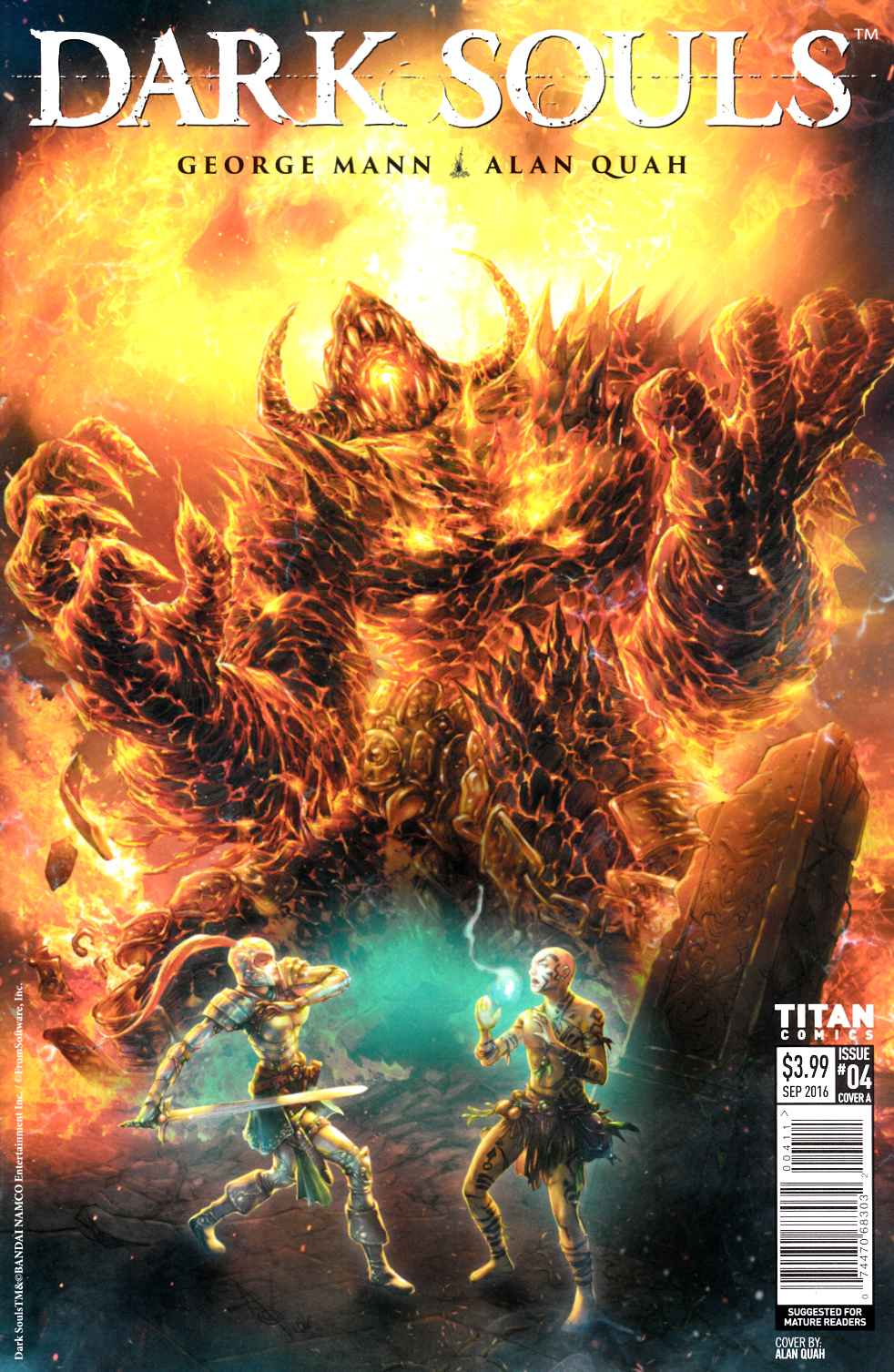 Dark Souls #4 Cover A [Titan Comic] THUMBNAIL