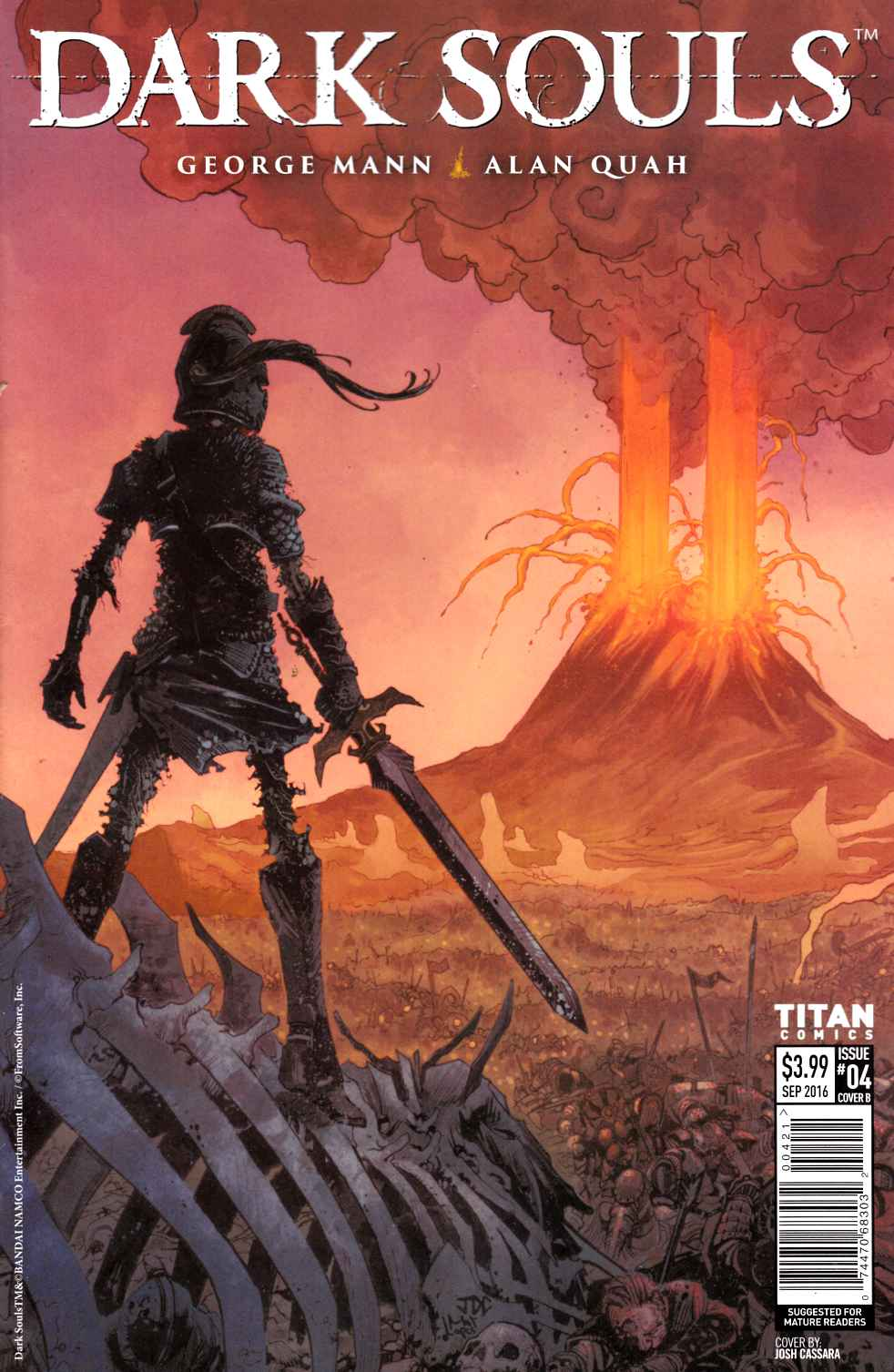 Dark Souls #4 Cover B [Titan Comic] THUMBNAIL