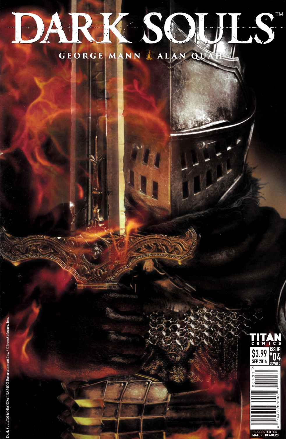 Dark Souls #4 Cover C [Titan Comic] THUMBNAIL
