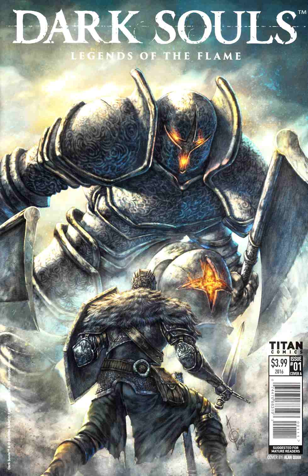 Dark Souls Legends of the Flame #1 Cover A [Titan Comic] THUMBNAIL