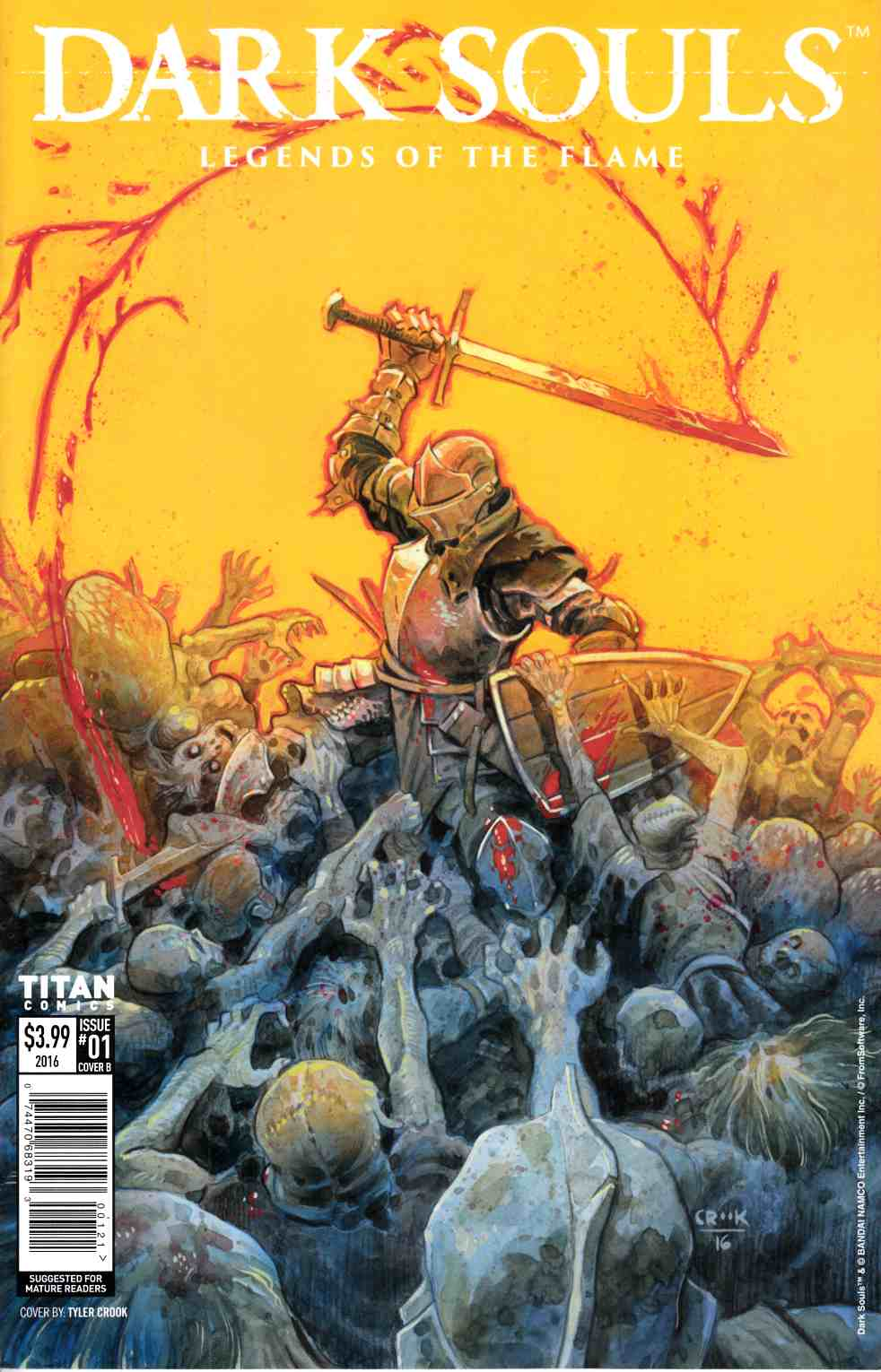 Dark Souls Legends of the Flame #1 Cover B [Titan Comic] THUMBNAIL