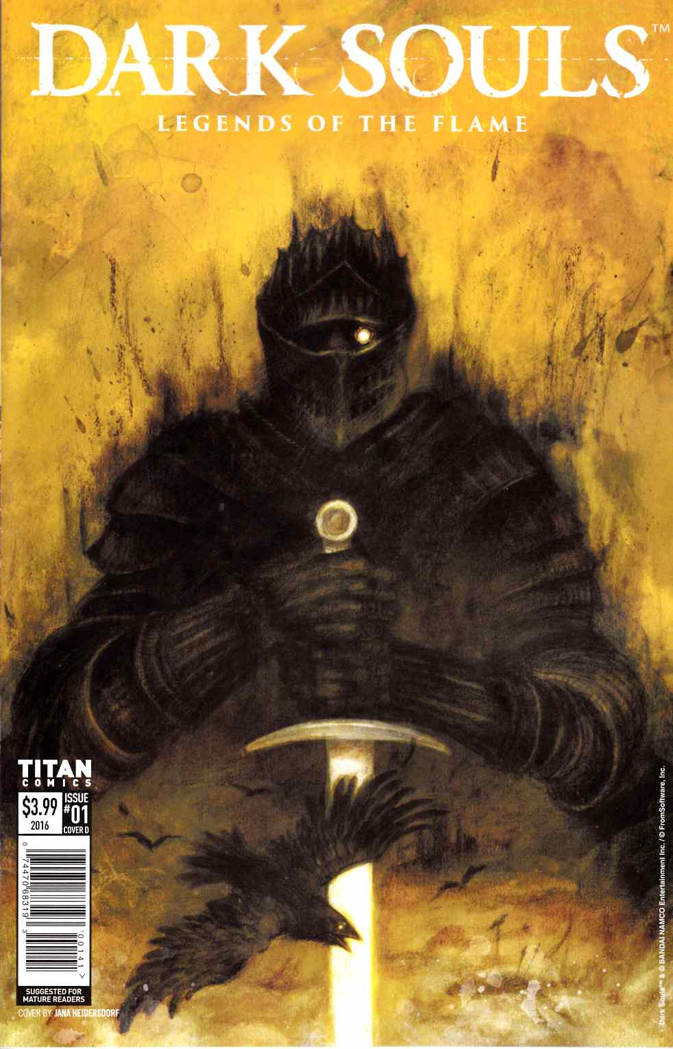 Dark Souls Legends of the Flame #1 Cover D [Titan Comic] THUMBNAIL