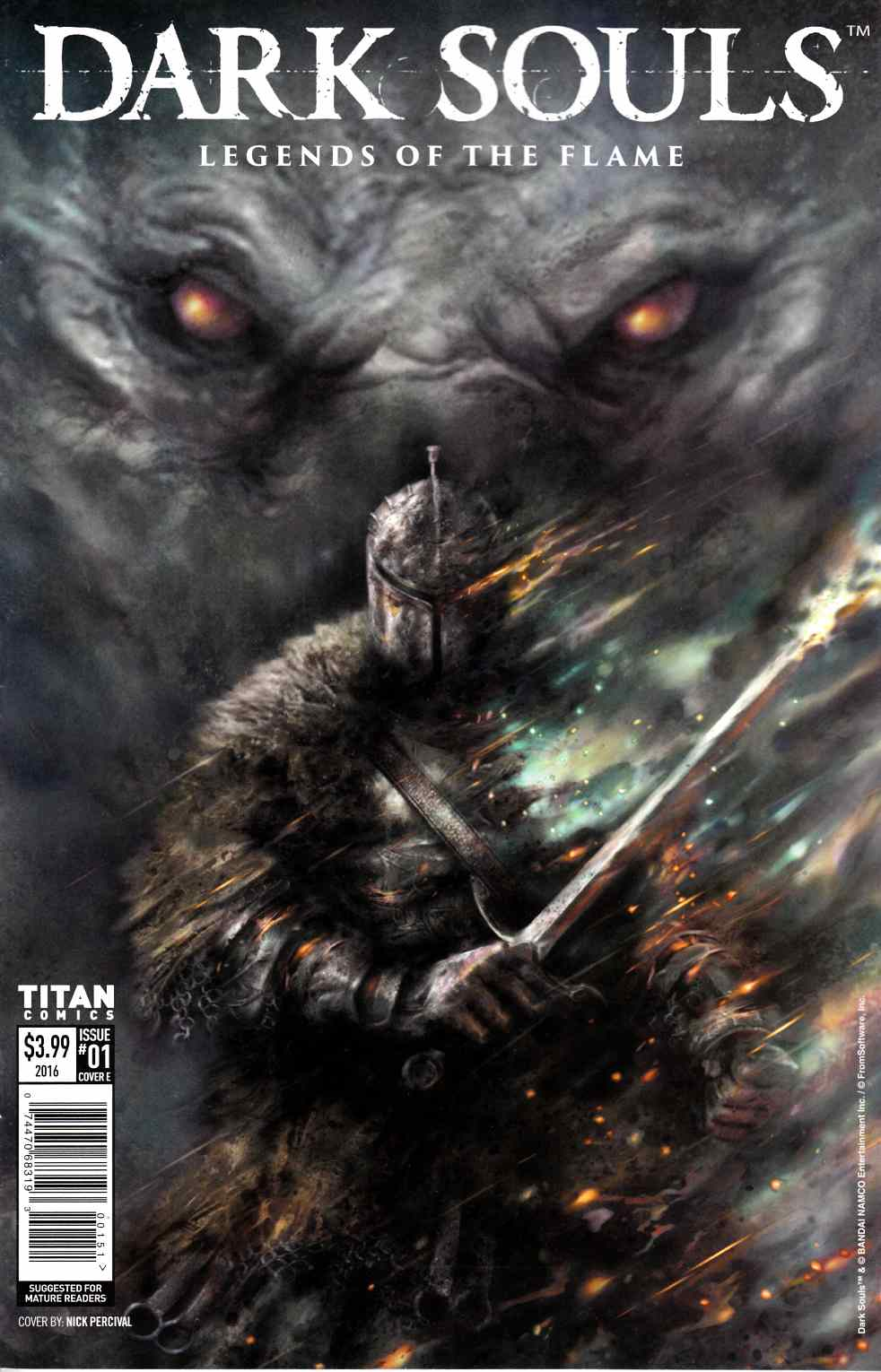 Dark Souls Legends of the Flame #1 Cover E [Titan Comic] THUMBNAIL