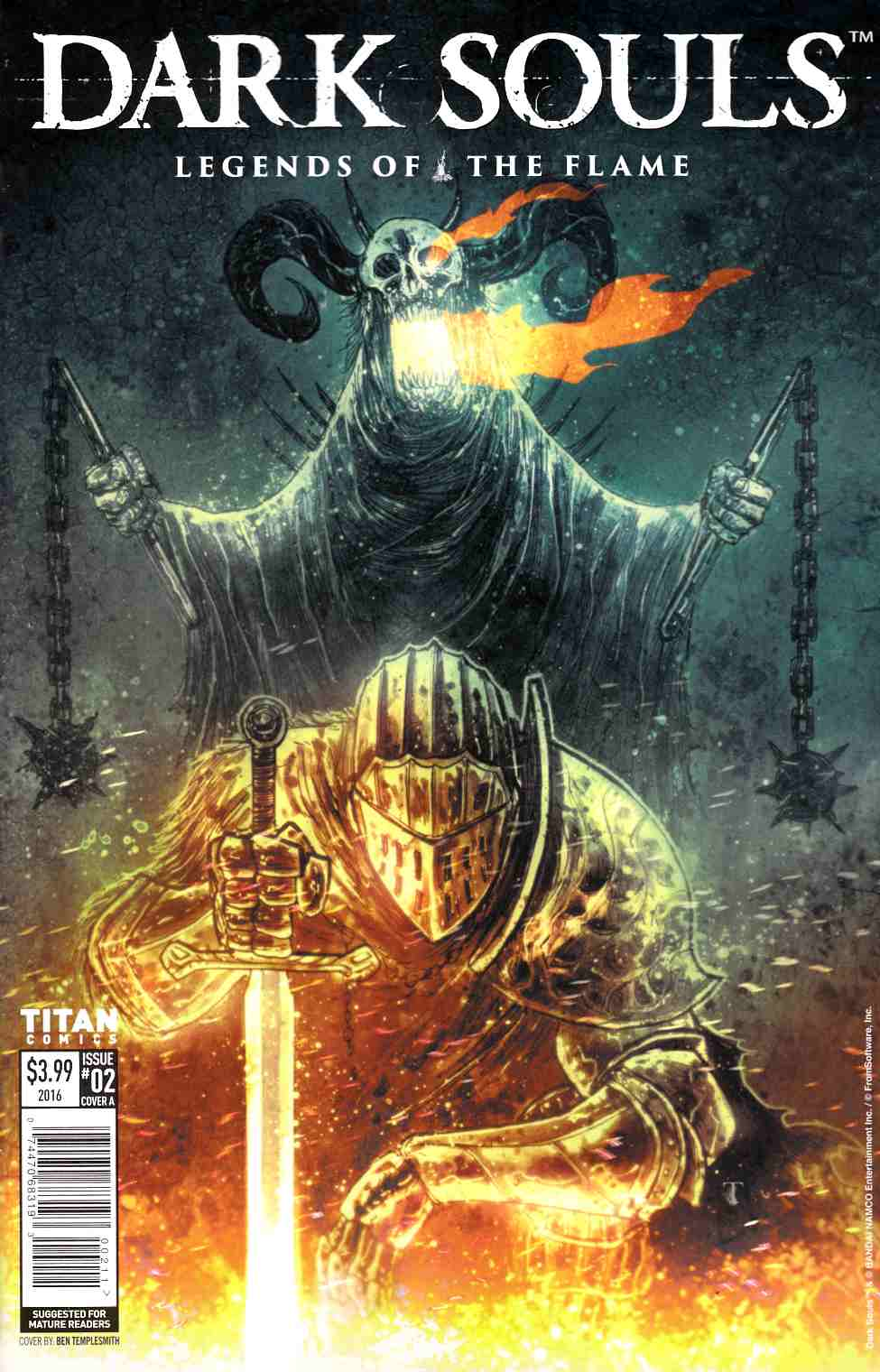 Dark Souls Legends of the Flame #2 Cover A [Titan Comic] LARGE