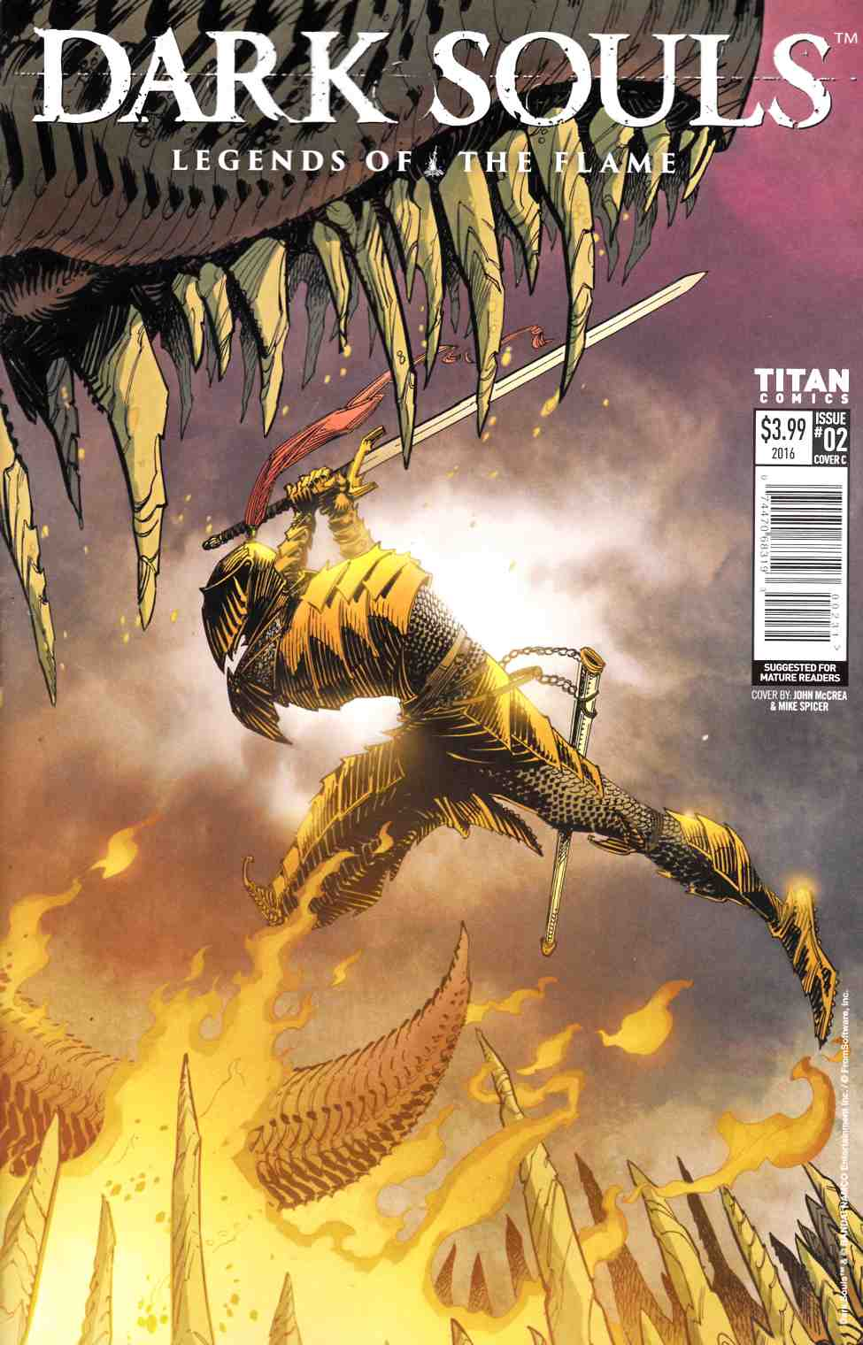 Dark Souls Legends of the Flame #2 Cover C [Titan Comic] THUMBNAIL