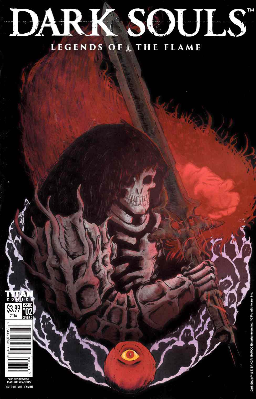 Dark Souls Legends of the Flame #2 Cover D [Titan Comic] THUMBNAIL