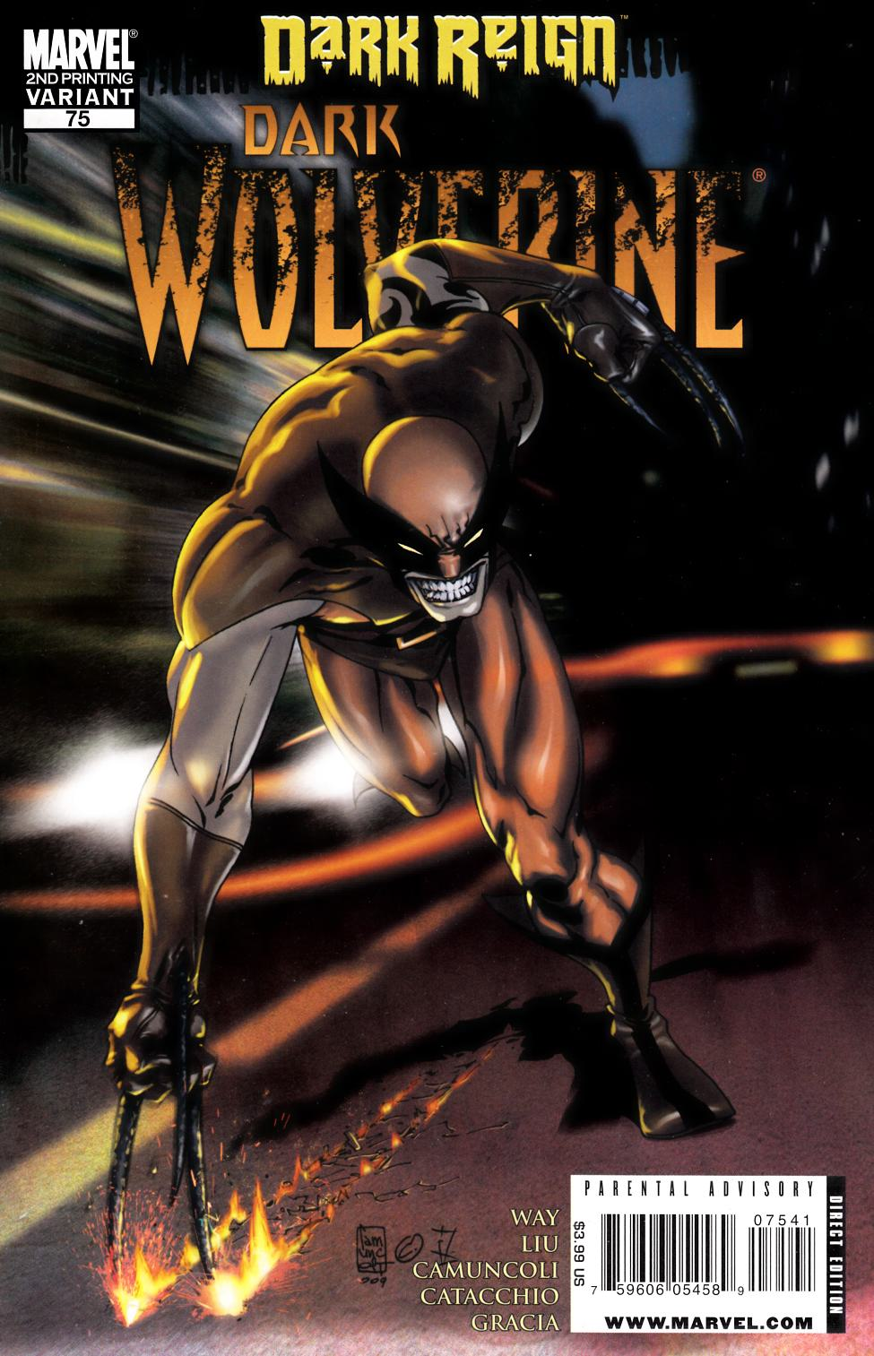 Dark Wolverine #75 Second Printing [Marvel Comic] THUMBNAIL
