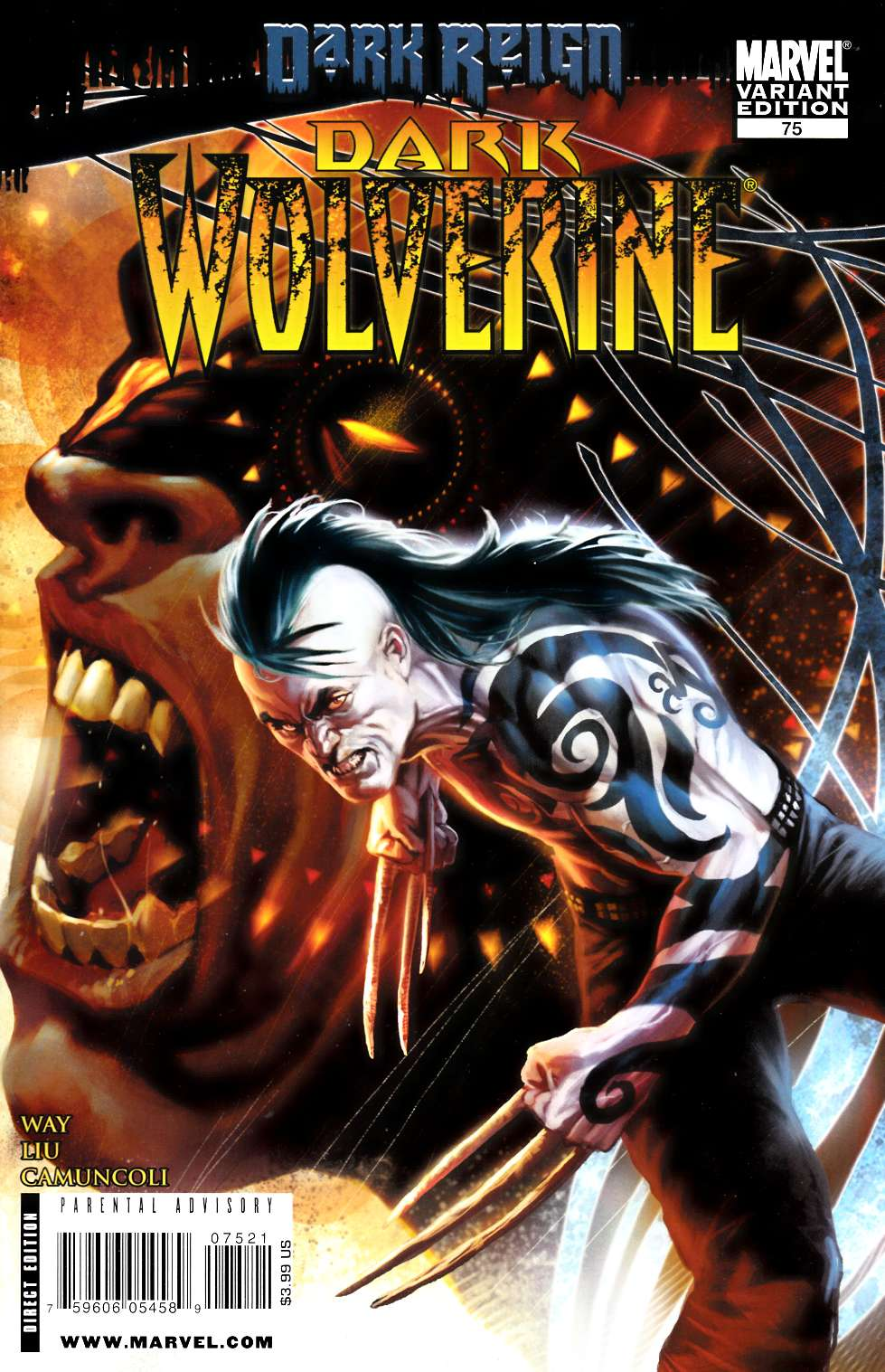 Dark Wolverine #75 Djurdjevic Variant Cover [Marvel Comic] THUMBNAIL