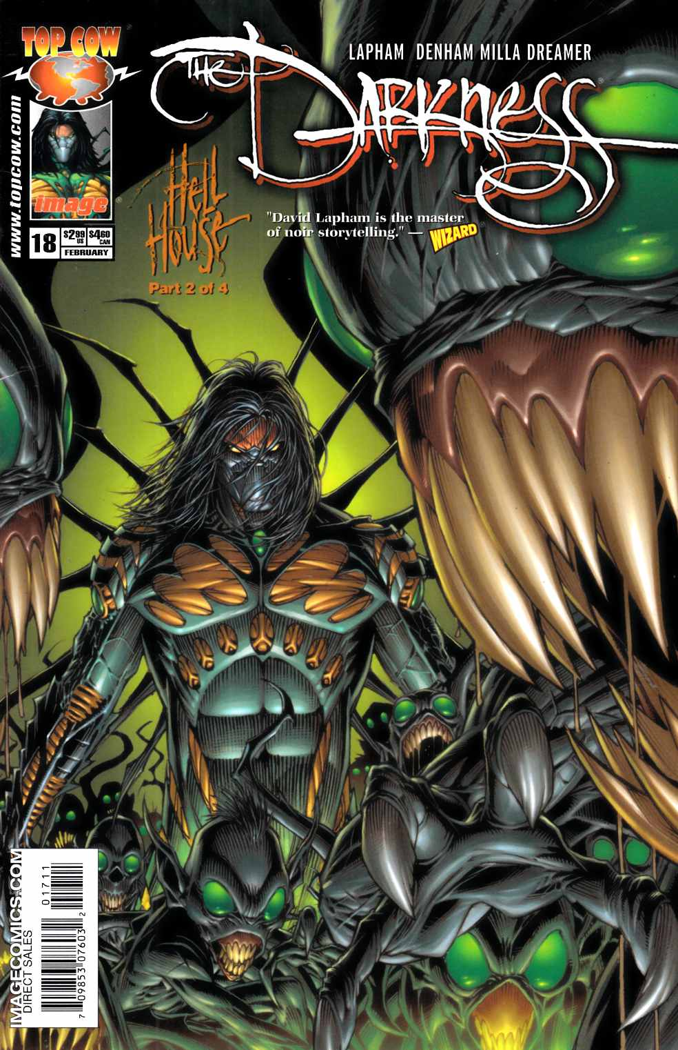 Darkness #18 Very Fine (8.0) [Image Comic] THUMBNAIL