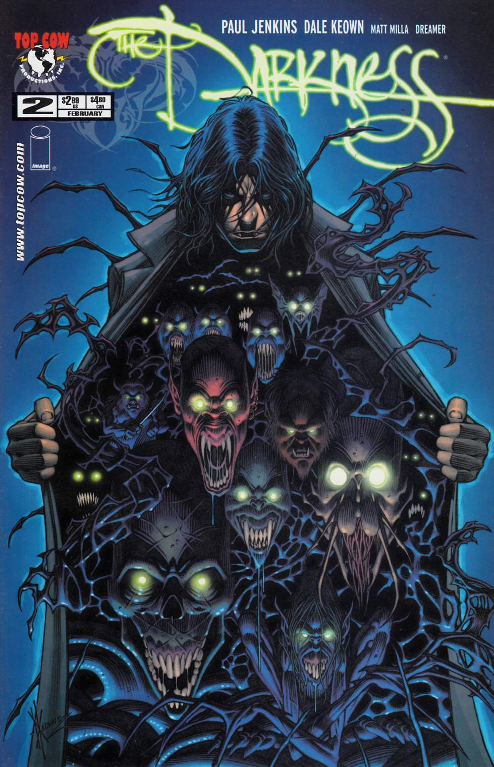 Darkness #2 Near Mint (9.4) [Image Comic] THUMBNAIL