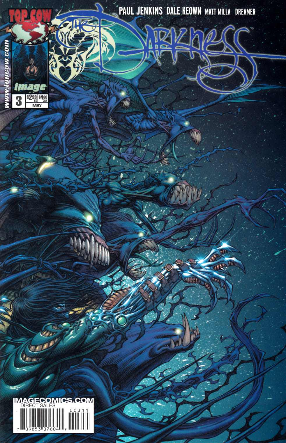 Darkness #3 Near Mint (9.4) [Image Comic] THUMBNAIL