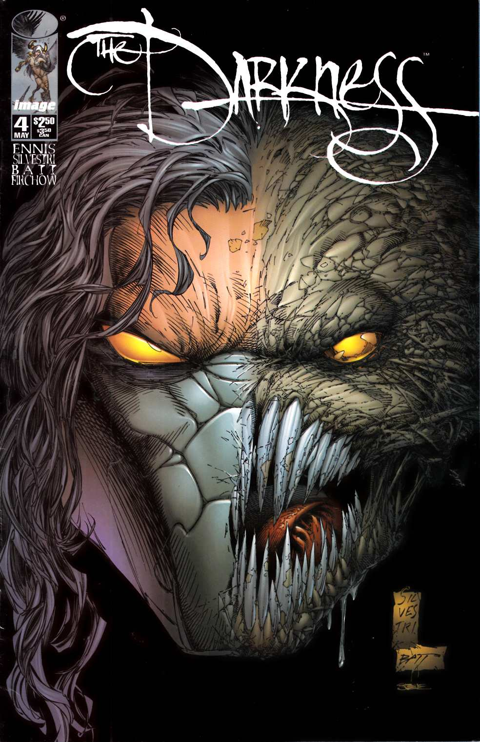 Darkness #4 Very Fine (8.0) [Image Comic] THUMBNAIL
