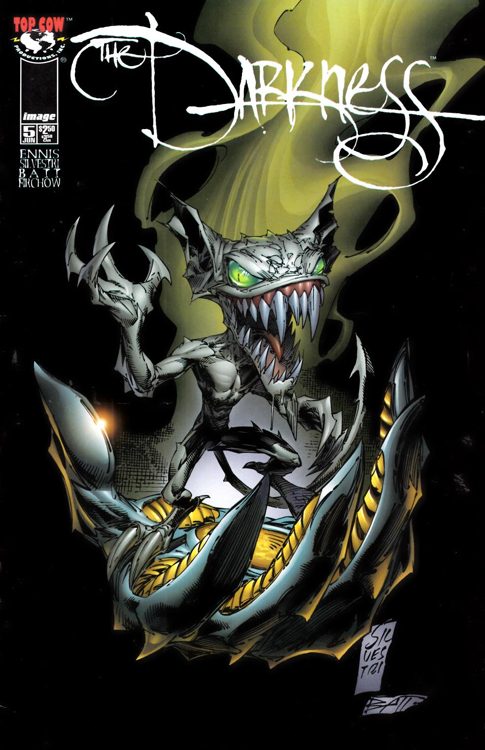 Darkness #5 Very Fine (8.0) [Image Comic] THUMBNAIL