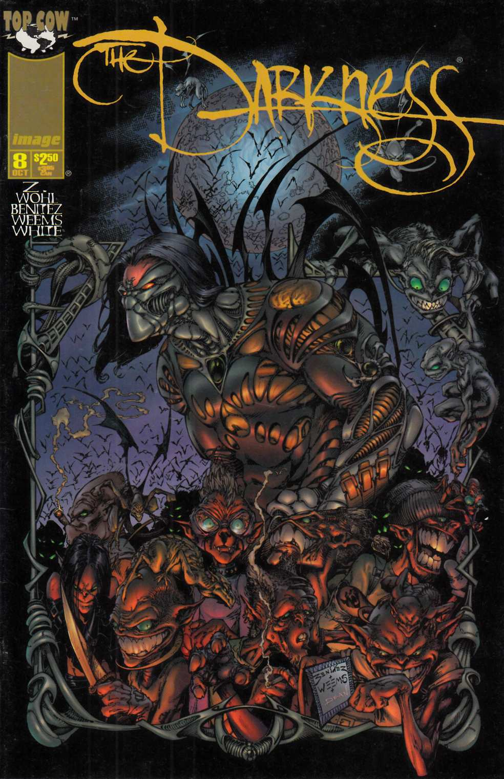 Darkness #8 Very Fine (8.0) [Image Comic] THUMBNAIL