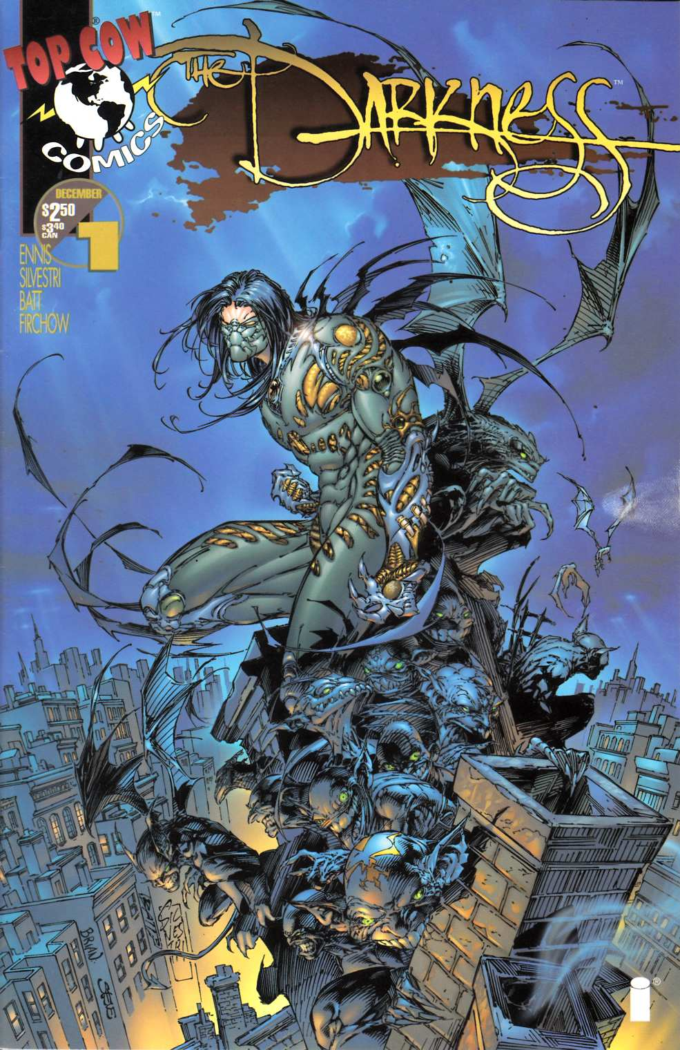 Darkness #1 Near Mint Minus (9.2) [Image Comic] THUMBNAIL