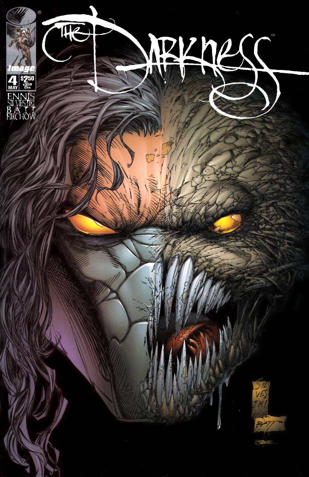 Darkness #4 Near Mint Minus (9.2) [Image Comic] THUMBNAIL