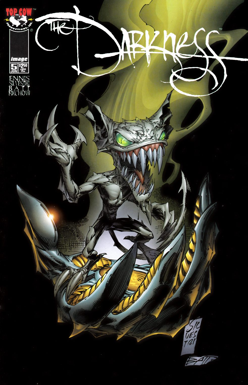 Darkness #5 Near Mint (9.4) [Image Comic] THUMBNAIL