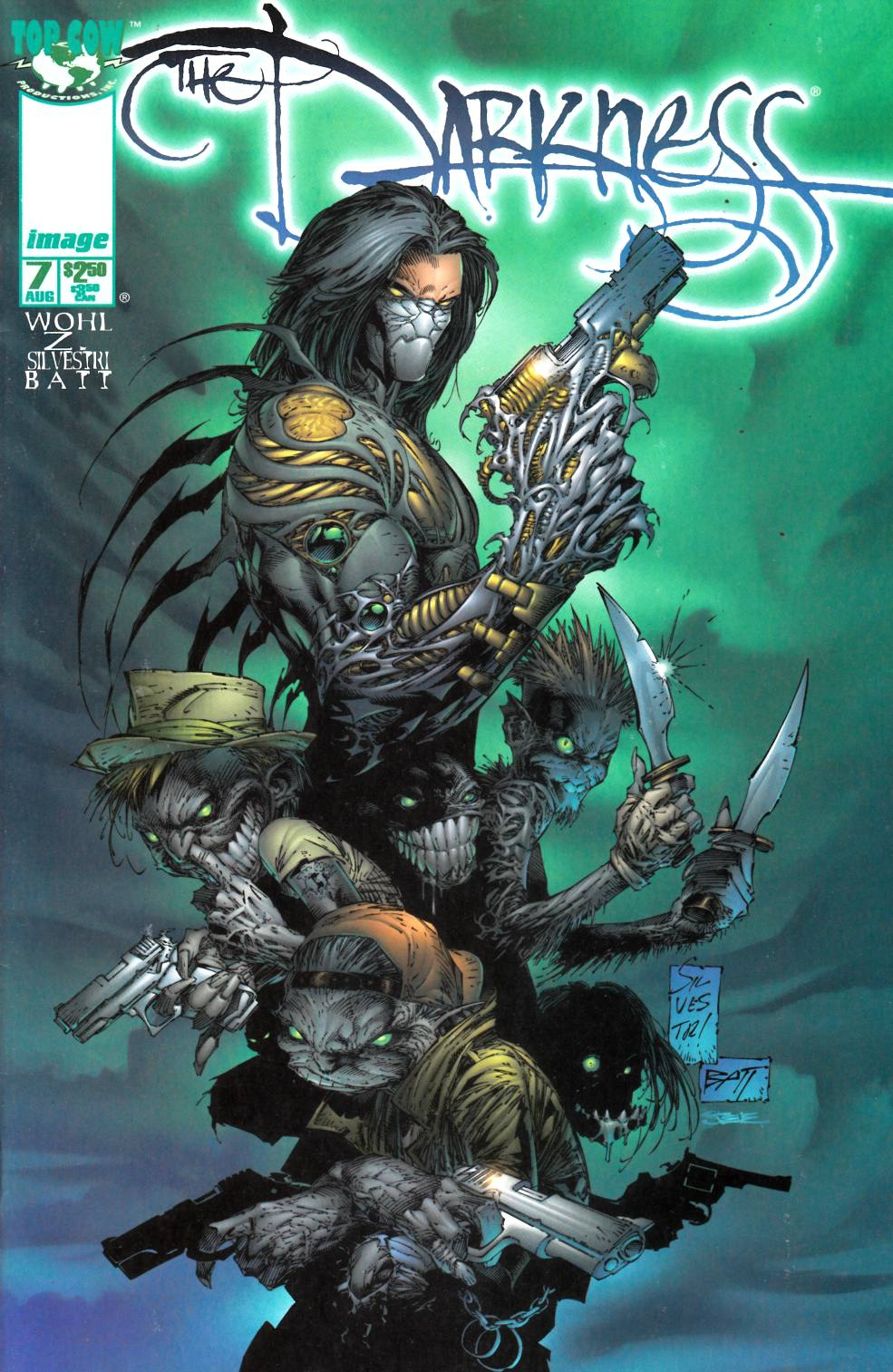 Darkness #7 Near Mint Minus (9.2) [Image Comic] THUMBNAIL