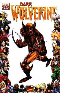 Dark wolverine #77 (dkr) (1:10 70th frame variant cover) LARGE