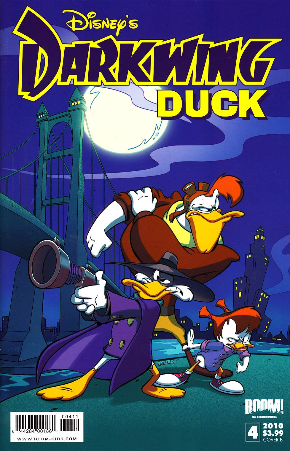 Darkwing Duck #4 Cover B Near Mint (9.4) [Boom Comic]_THUMBNAIL
