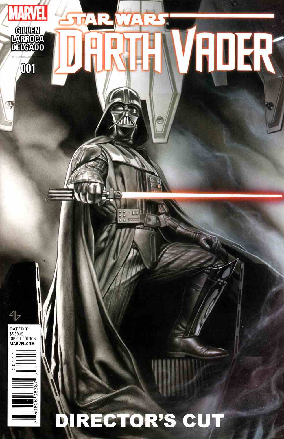 Darth Vader #1 Directors Cut Edtion [Marvel Comic] LARGE