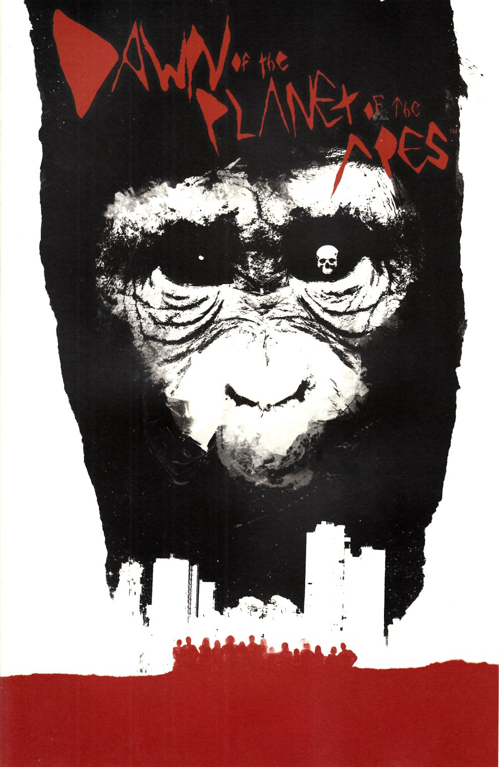 Dawn of Planet of Apes #1 Cover B- Shaw Incentive [Boom Comic]
