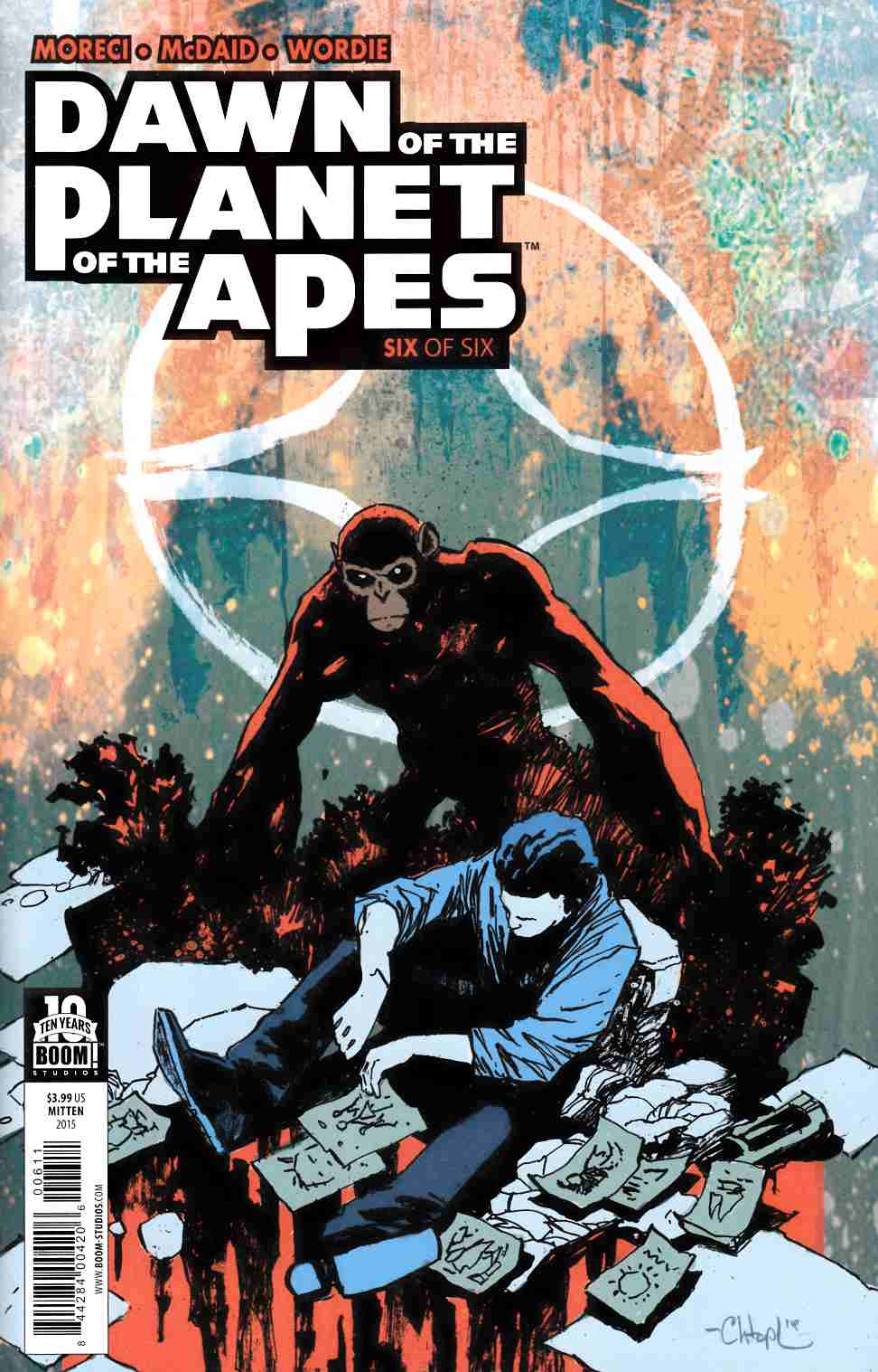 Dawn of Planet of Apes #6 [Boom Comic]