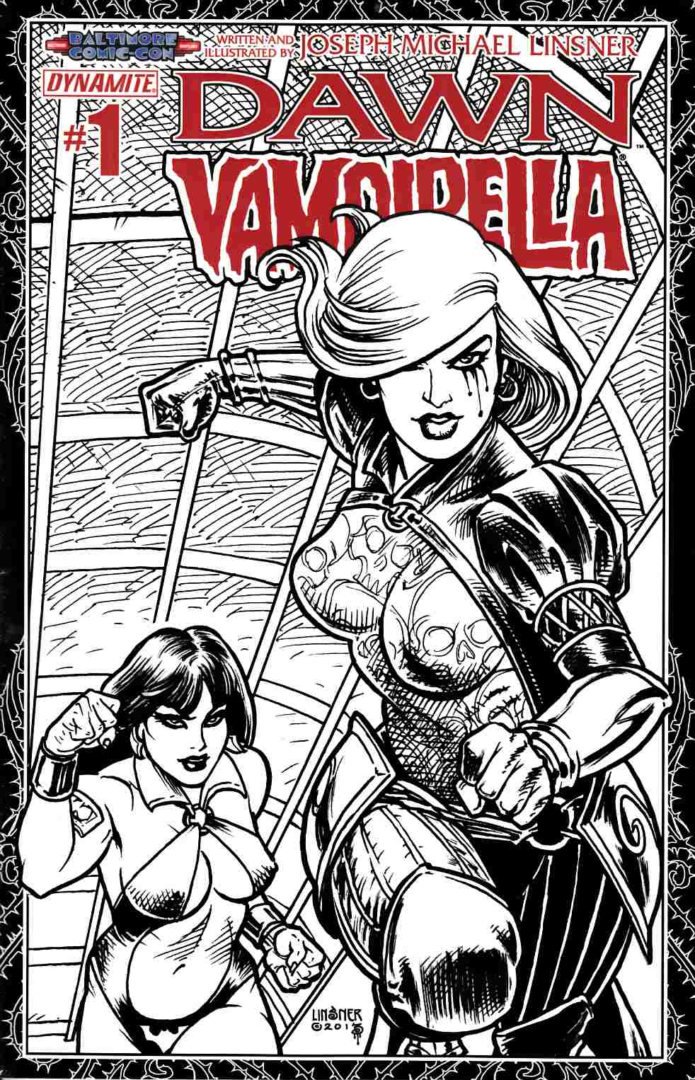 Dawn Vampirella #1 Linsner Pure Art Ladies Cover [Comic] THUMBNAIL