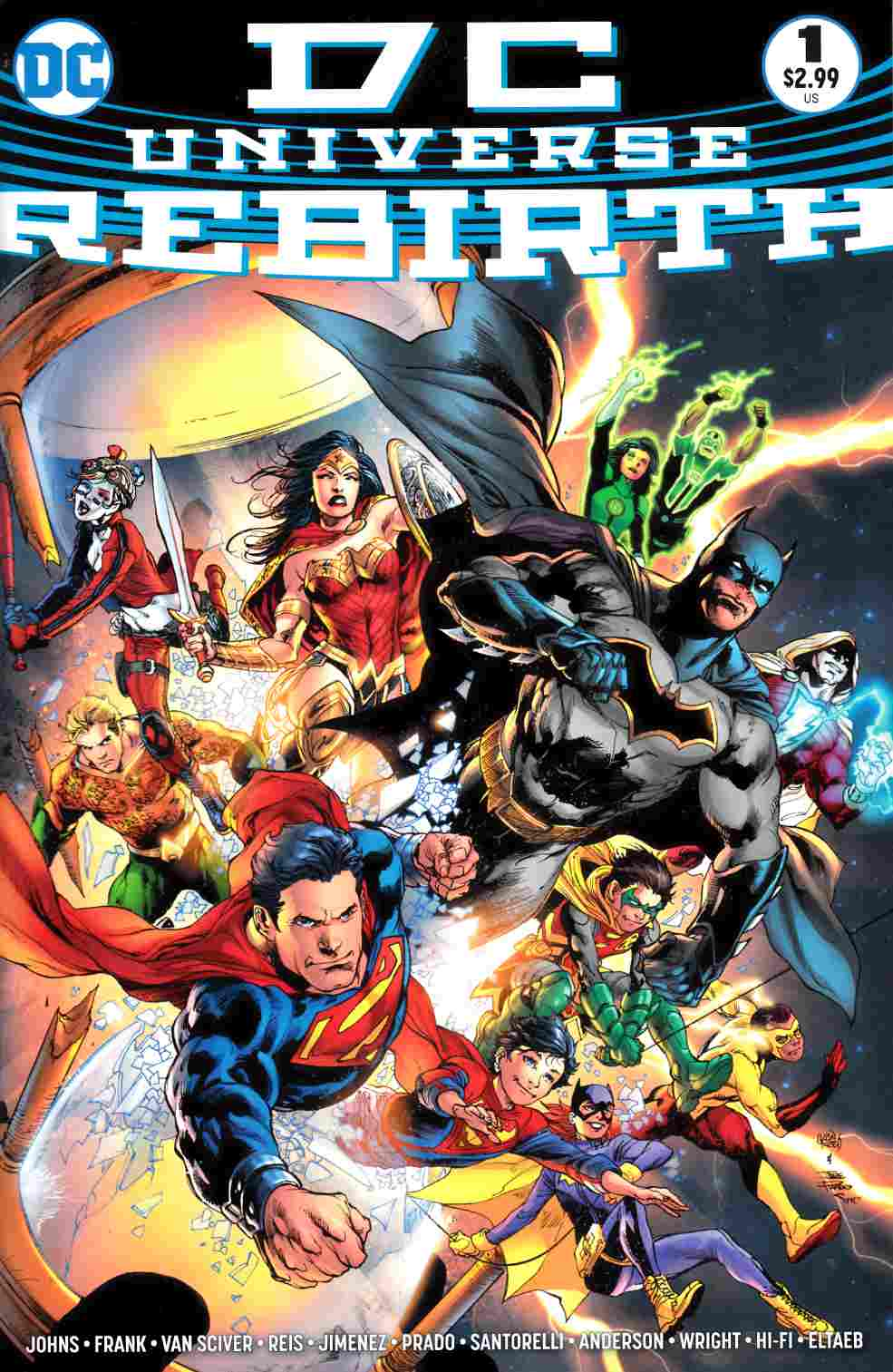 DC Universe Rebirth #1 Midnight Release Variant Cover [DC Comic]_THUMBNAIL
