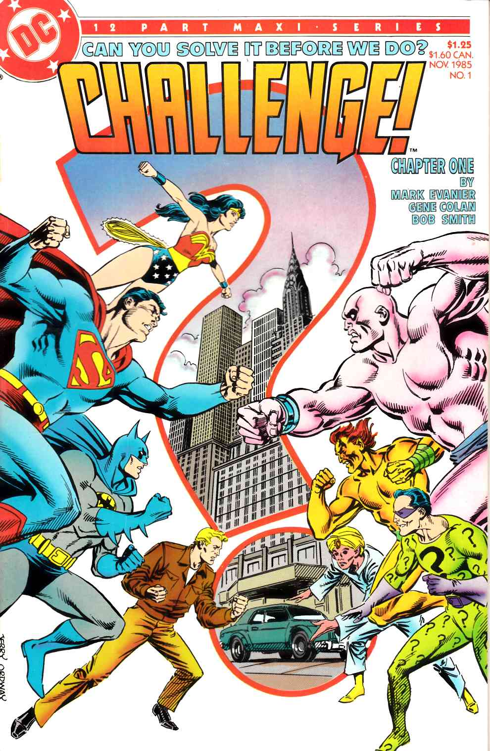 DC Challenge #1 Very Fine (8.0) [DC Comic] LARGE