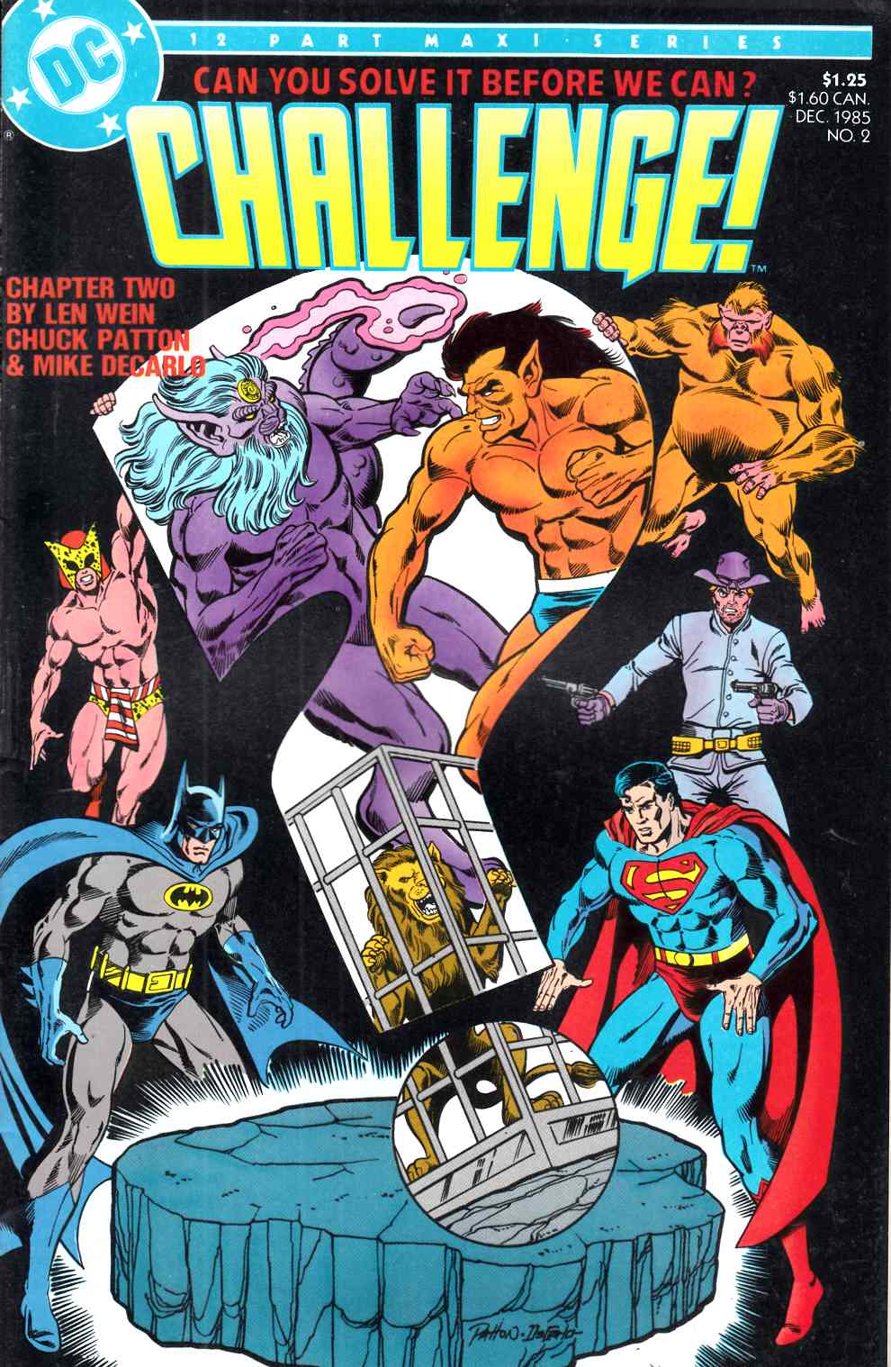 DC Challenge #2 Very Fine (8.0) [DC Comic] LARGE