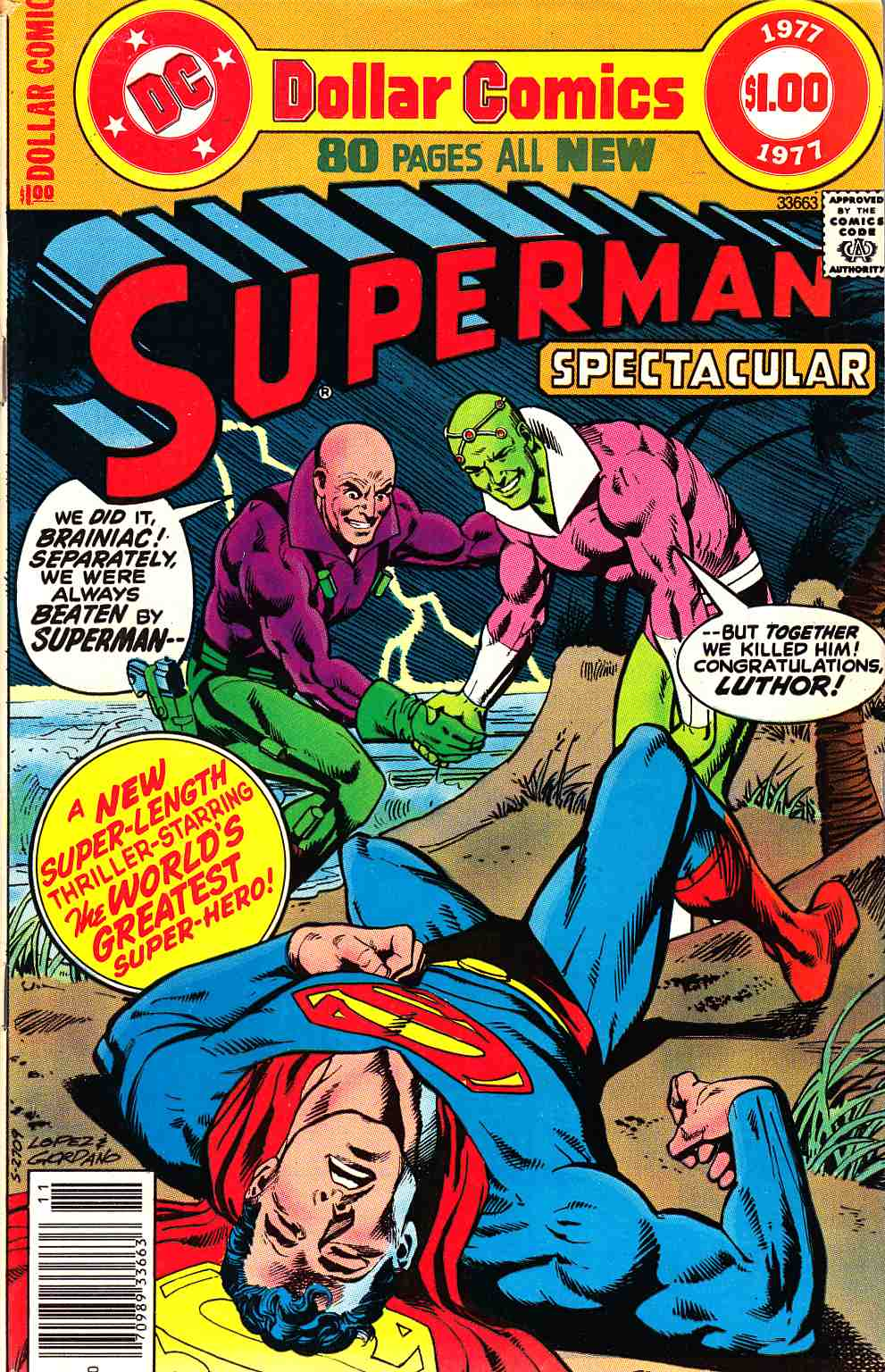 DC Special Series #5 Superman Fine (6.0) [DC Comic] THUMBNAIL