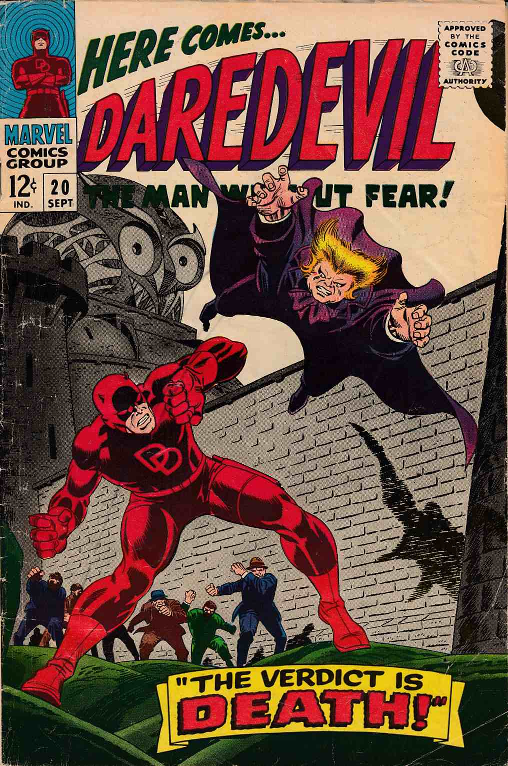 Daredevil #20 Good Plus (2.5) [Marvel Comic] LARGE