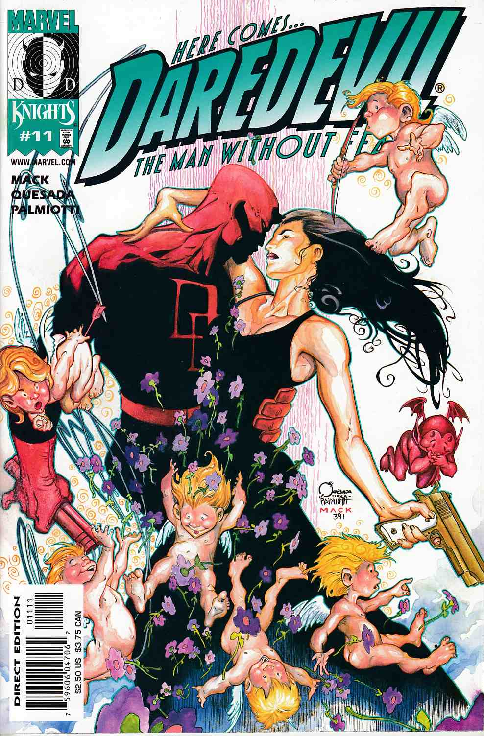 Daredevil #11 Near Mint (9.4) [Marvel Comic] THUMBNAIL