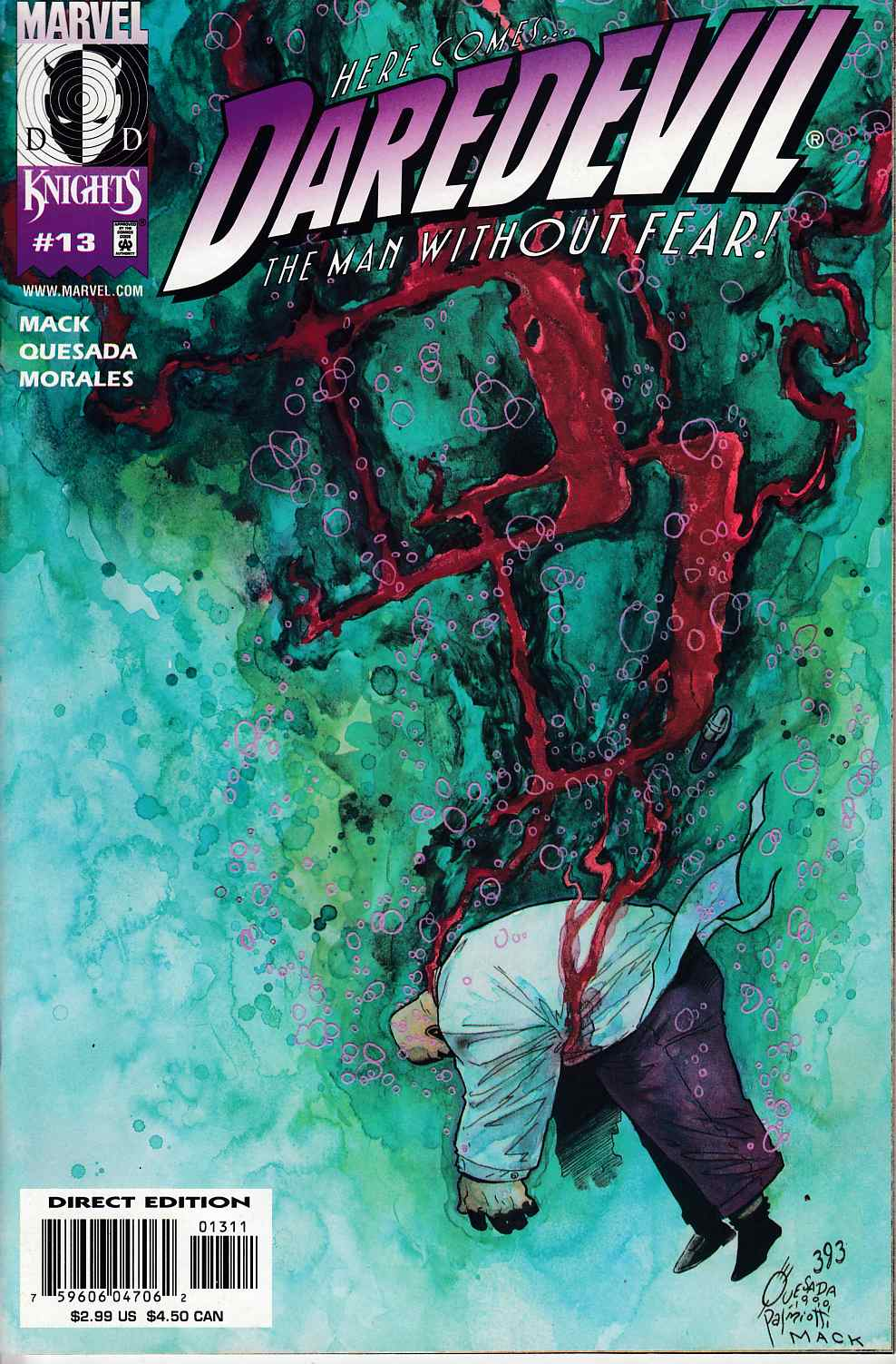 Daredevil #13 Near Mint (9.4) [Marvel Comic] THUMBNAIL