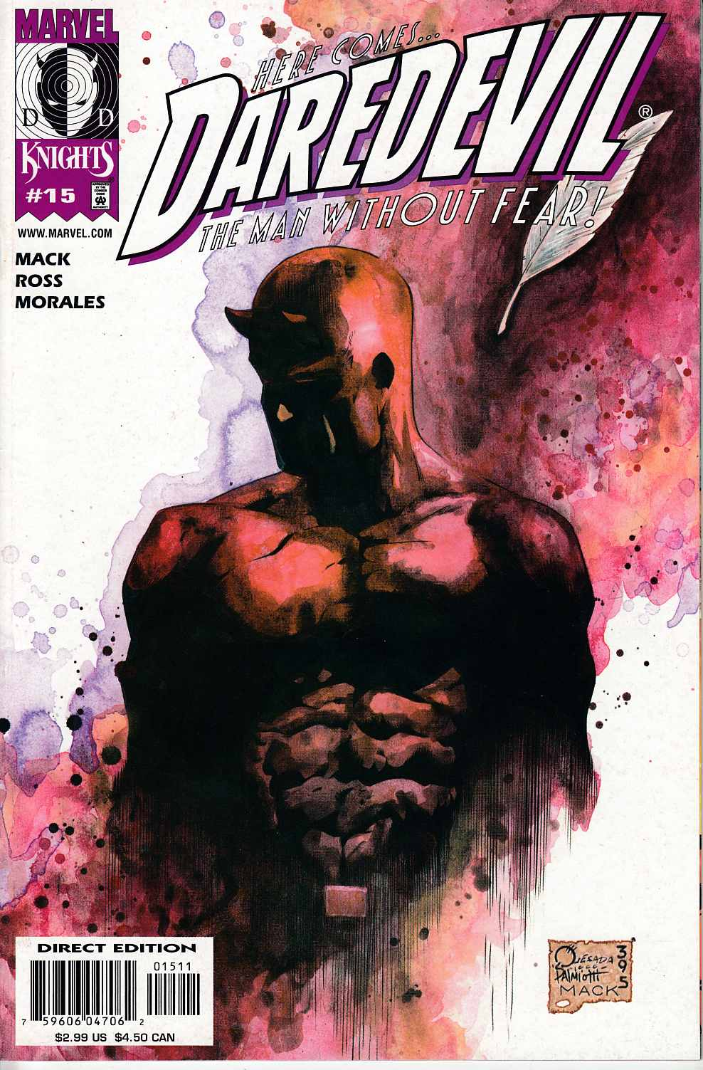 Daredevil #15 Near Mint (9.4) [Marvel Comic] THUMBNAIL