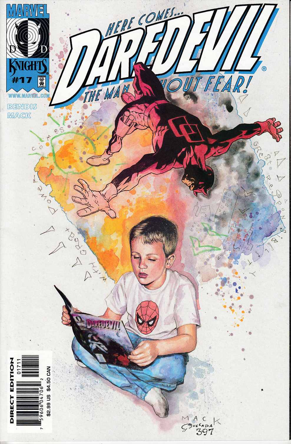 Daredevil #17 Near Mint (9.4) [Marvel Comic] THUMBNAIL